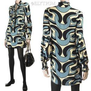 Diane von Furstenberg Eavan silk tunic dress